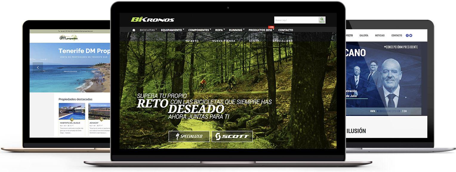Diseno paginas web tenerife cuadrados estudio - Diseno tenerife ...
