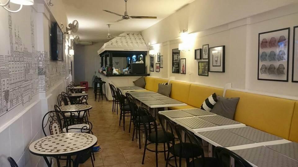 shakespeare 39 s restaurante en los cristianos cuadrados