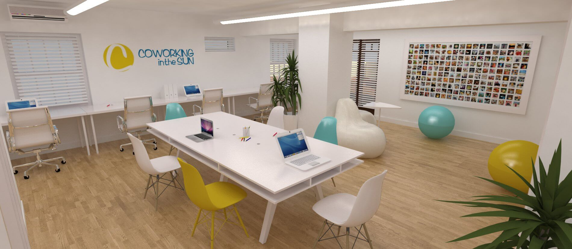 Coworking space adeje 1 cuadrados estudio - Diseno tenerife ...