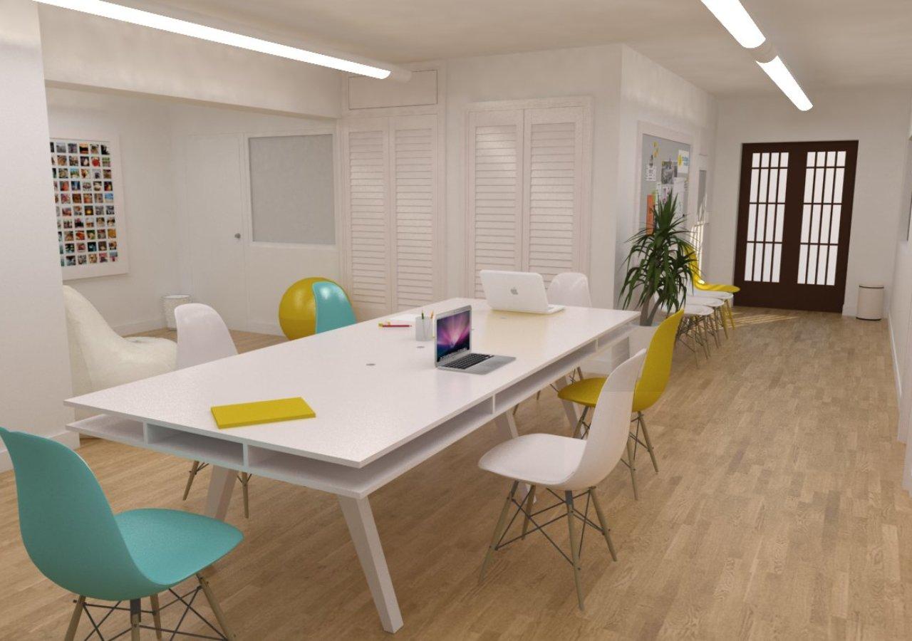Espacio de coworking en adeje cuadrados estudio for Oficina coworking