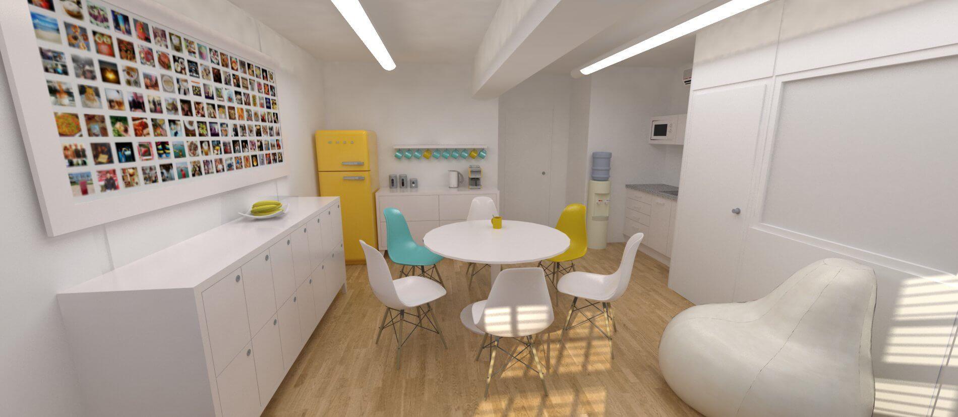 Coworking space adeje 7 cuadrados estudio - Diseno tenerife ...
