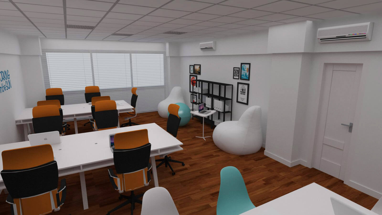 Espacio de coworking en puerto de la cruz cuadrados estudio - Diseno tenerife ...