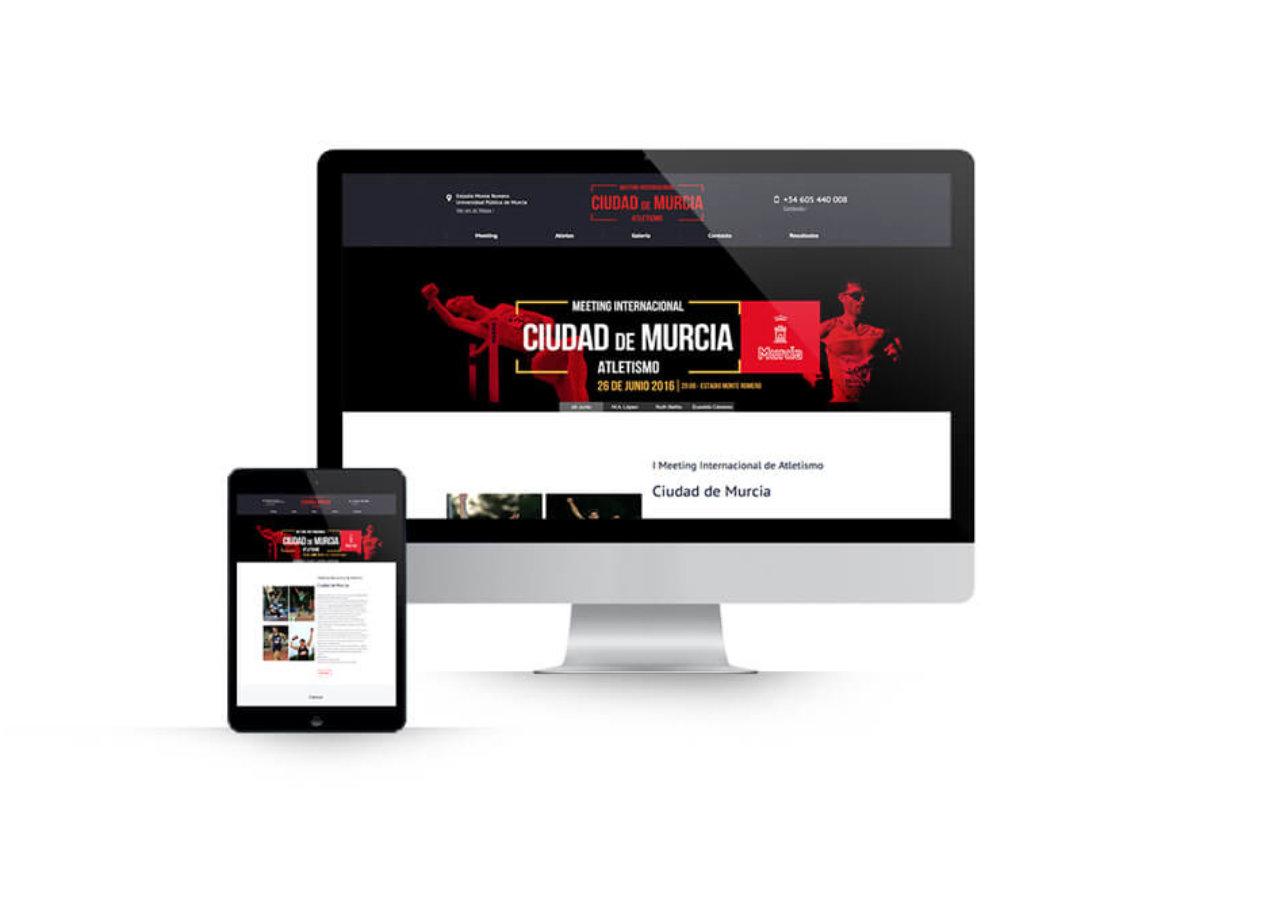 Diseño web en Murcia - Meeting Internacional Ciudad de Murcia