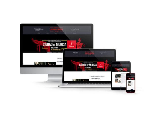 Diseño web en Murcia – Meeting Internacional Ciudad de Murcia