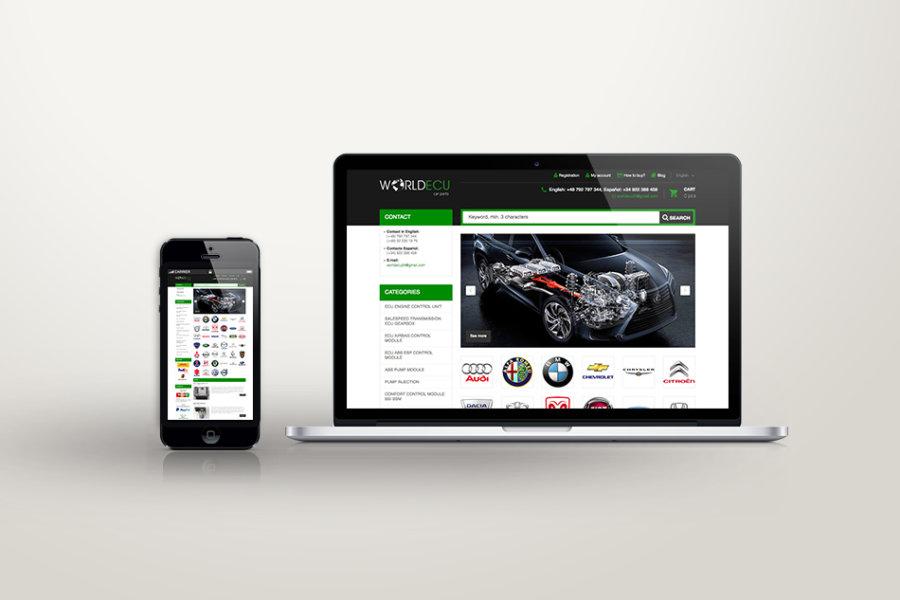 World ECU – Tienda online